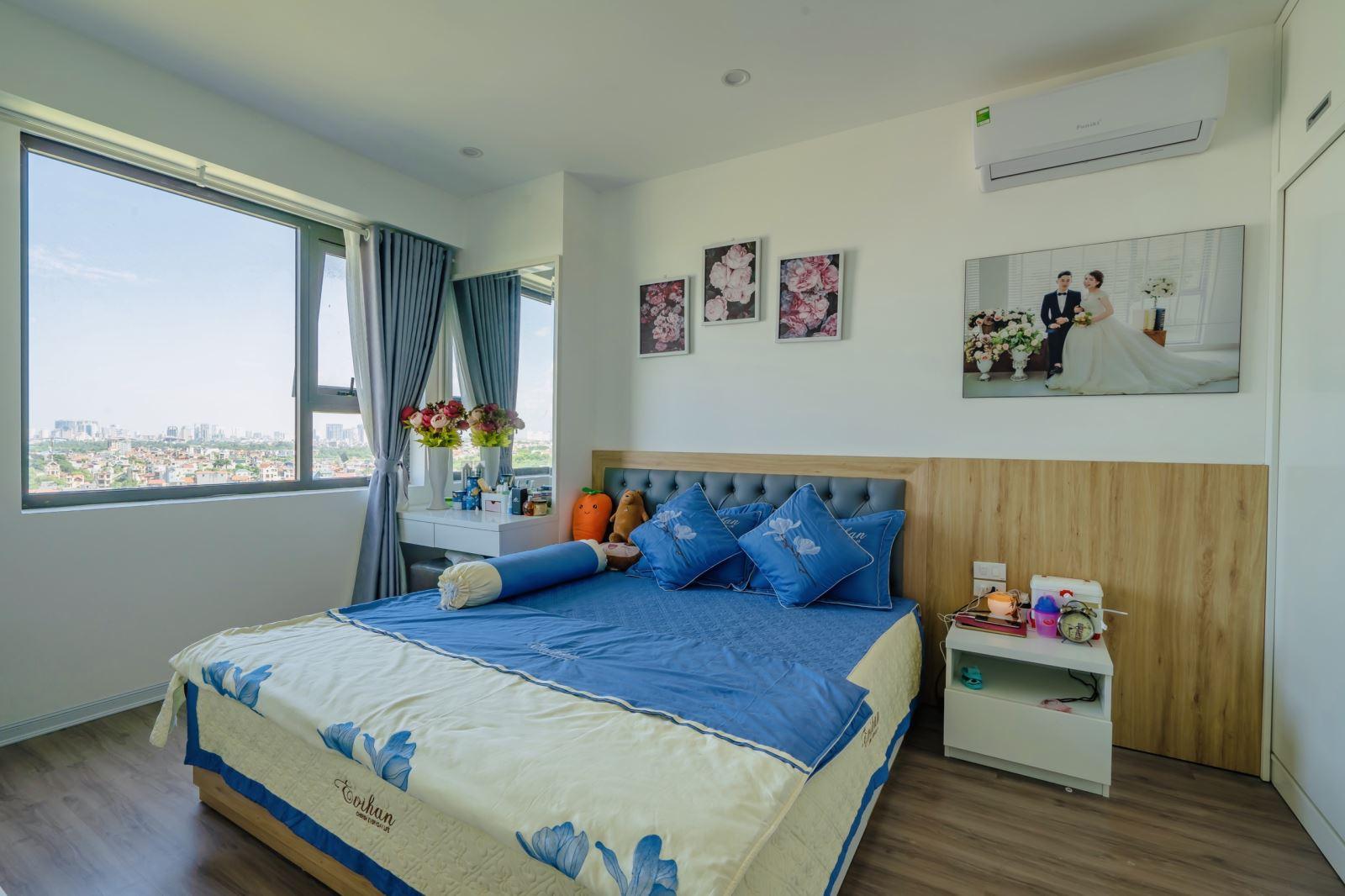Phòng ngủ căn hộ dự án FLC Đại Mỗ