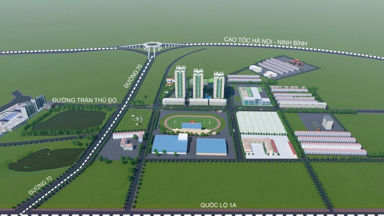 Vị trí dự án IEC Complex Thanh Trì