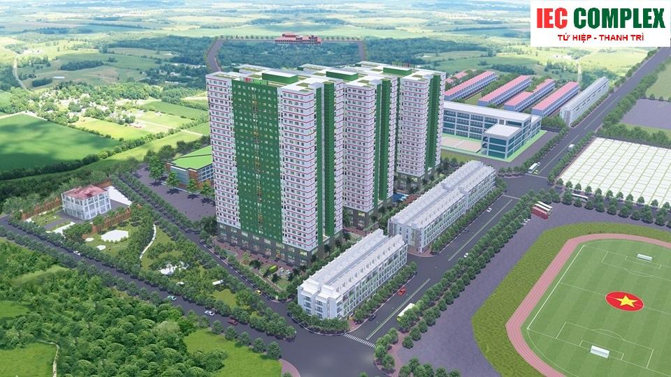 Phối cảnh dự án IEC Complex Thanh Trì